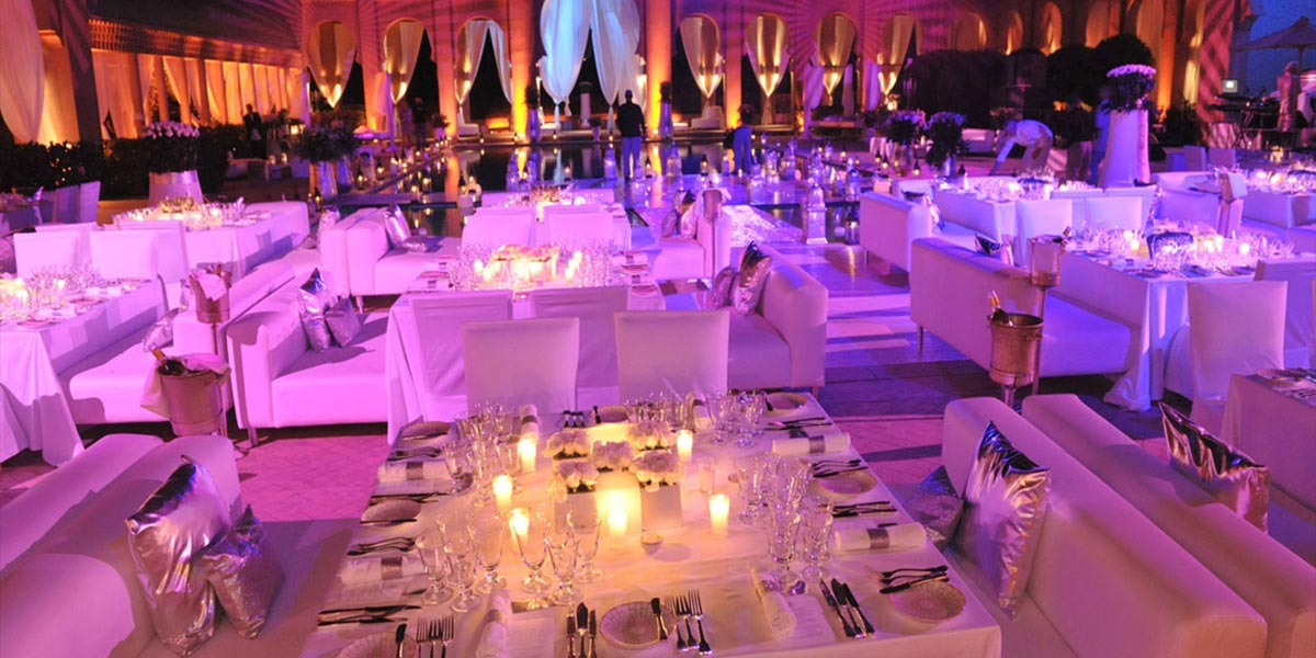 Romantic Wedding, Micemorocco, Prestigious Star Awards, Prestigious Venues
