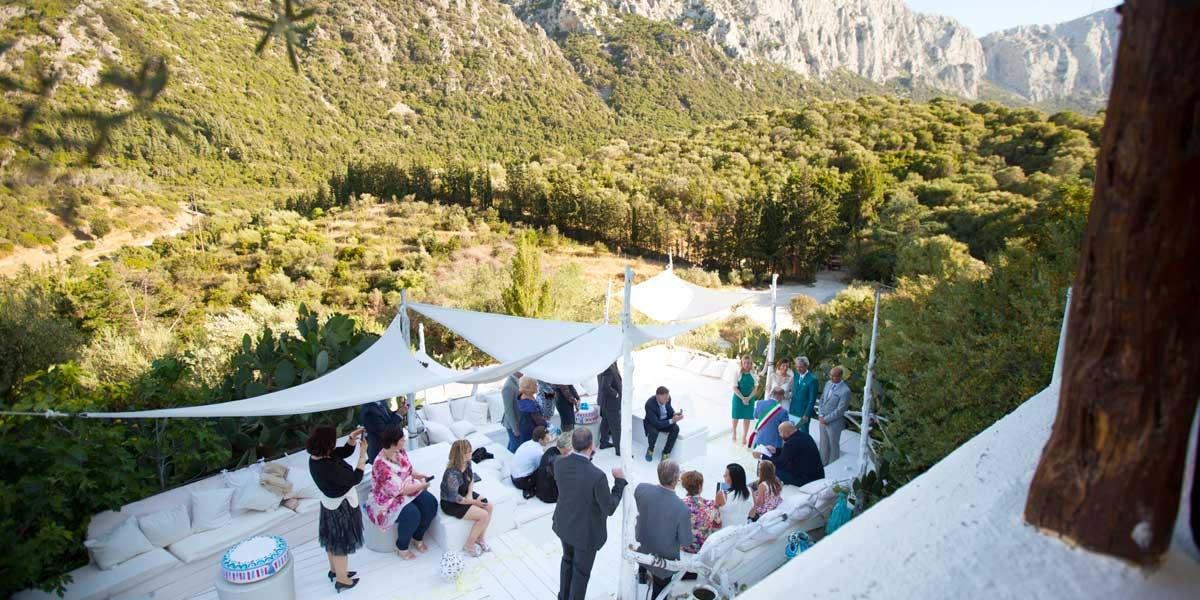 Sardinian Wedding Venue, Su Gologone, Prestigious Venues