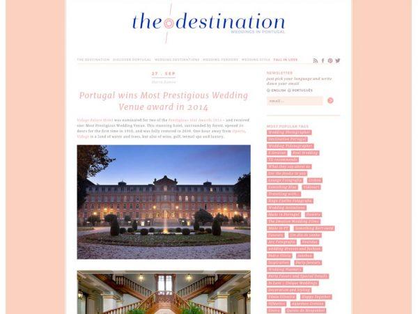 The Destination, Prestigious Star Awards 2014, Press Coverage