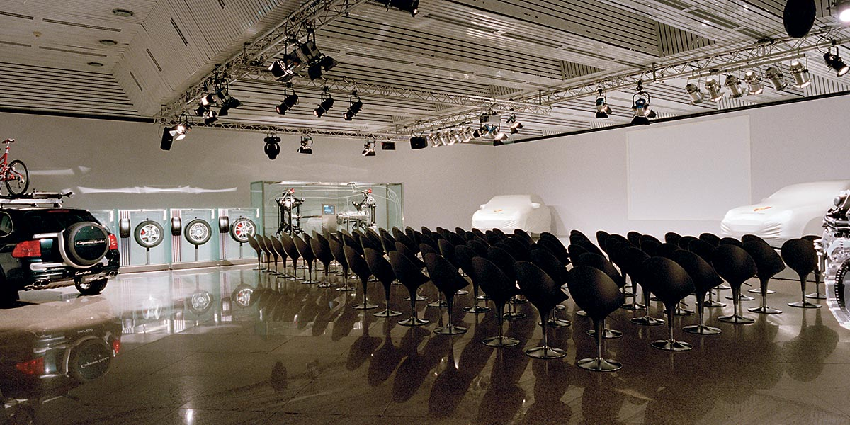 Venue For a Car Launch, Forte Village Resort, Prestigious Venues,
