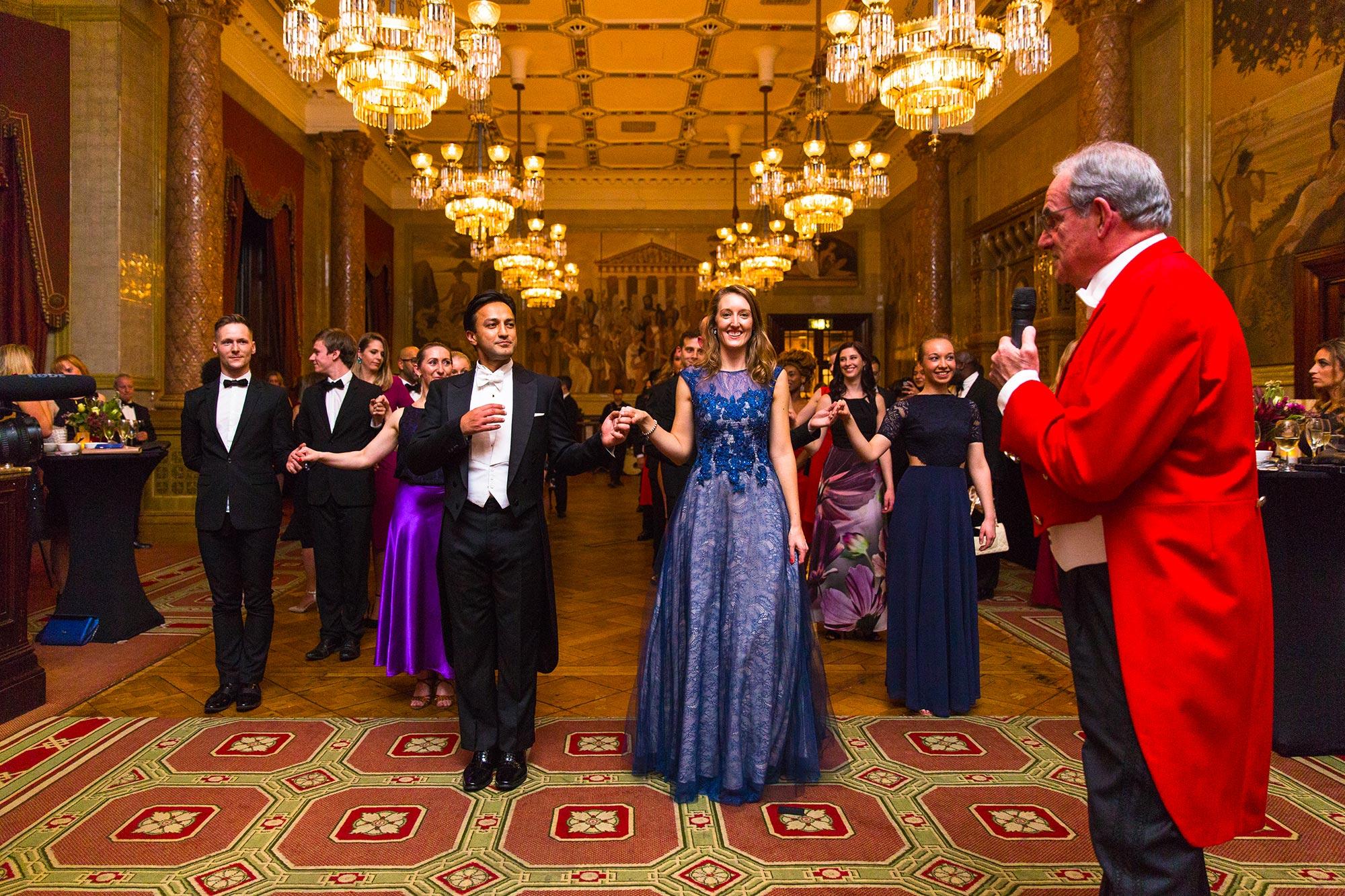 Habib Amir & Jessamie Dunton-Rose leading the Vienna Pose, Prestigious Star Awards Grand Ball 2019, Prestigious Venues
