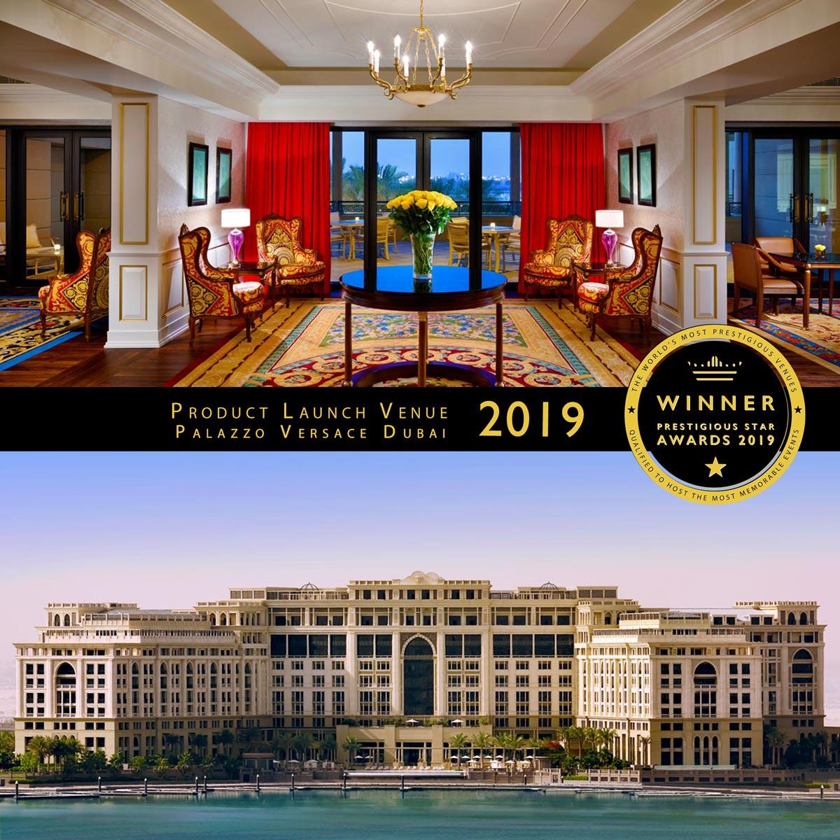 Imperial Suite at Palazzo Versace Dubai