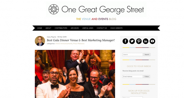 One Great George Street, OGGS, Prestigious Star Awards 2019, Press Coverage