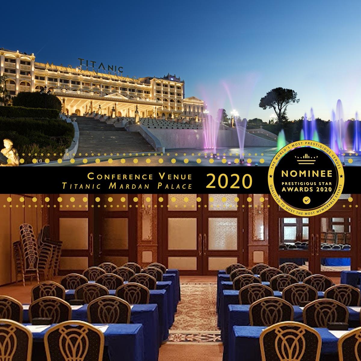 Dolmabahce Ballroom at Titanic Mardan Palace