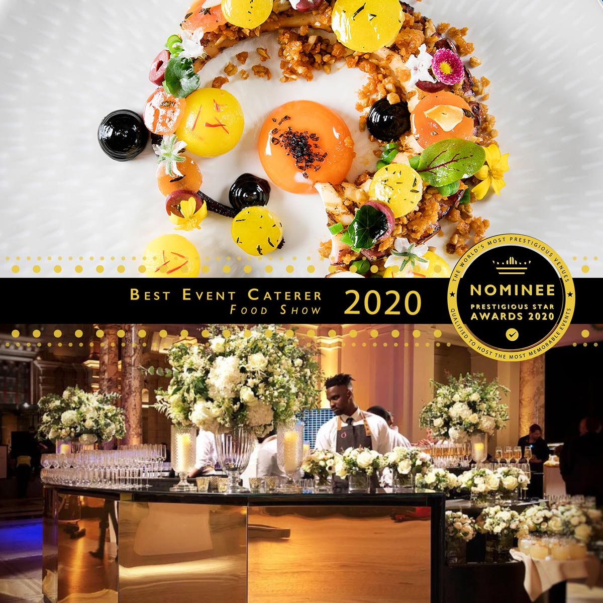 Event Catering at Food Show