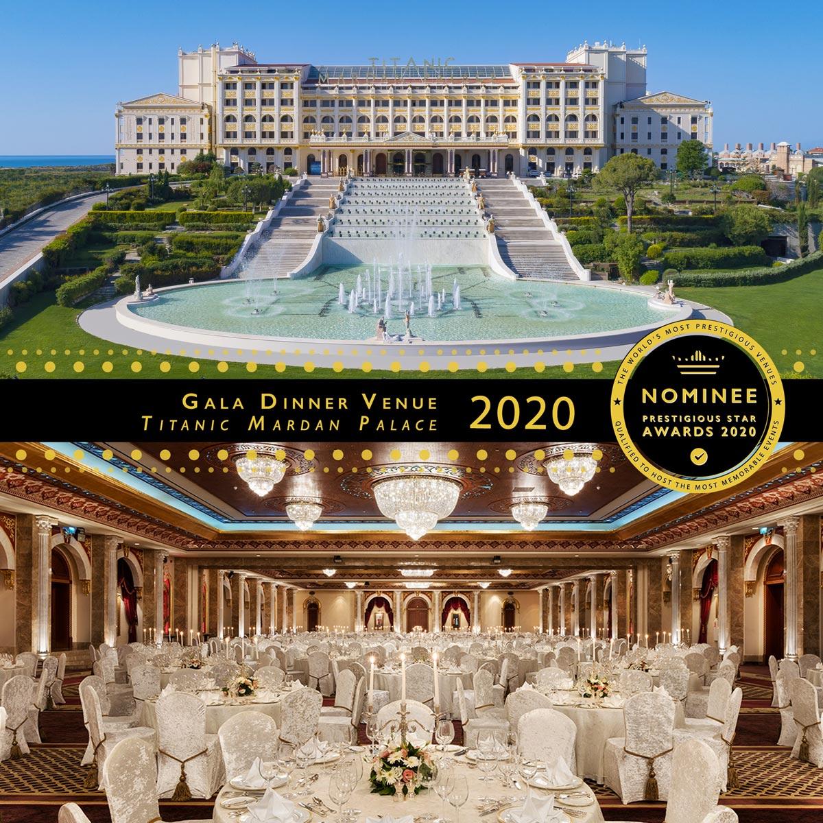 Beylerbeyi Ballroom at Titanic Mardan Palace