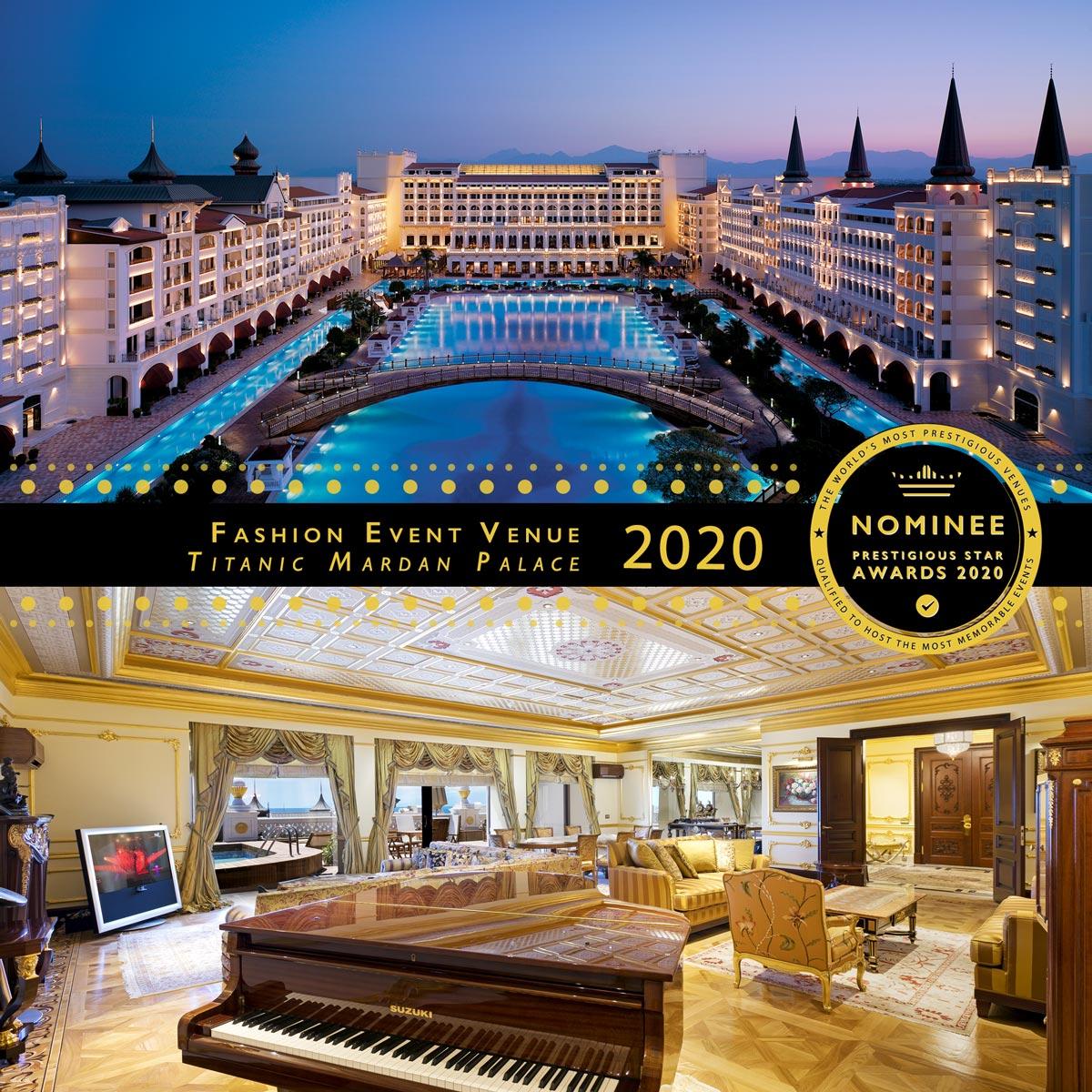 The King Suite at Titanic Mardan Palace
