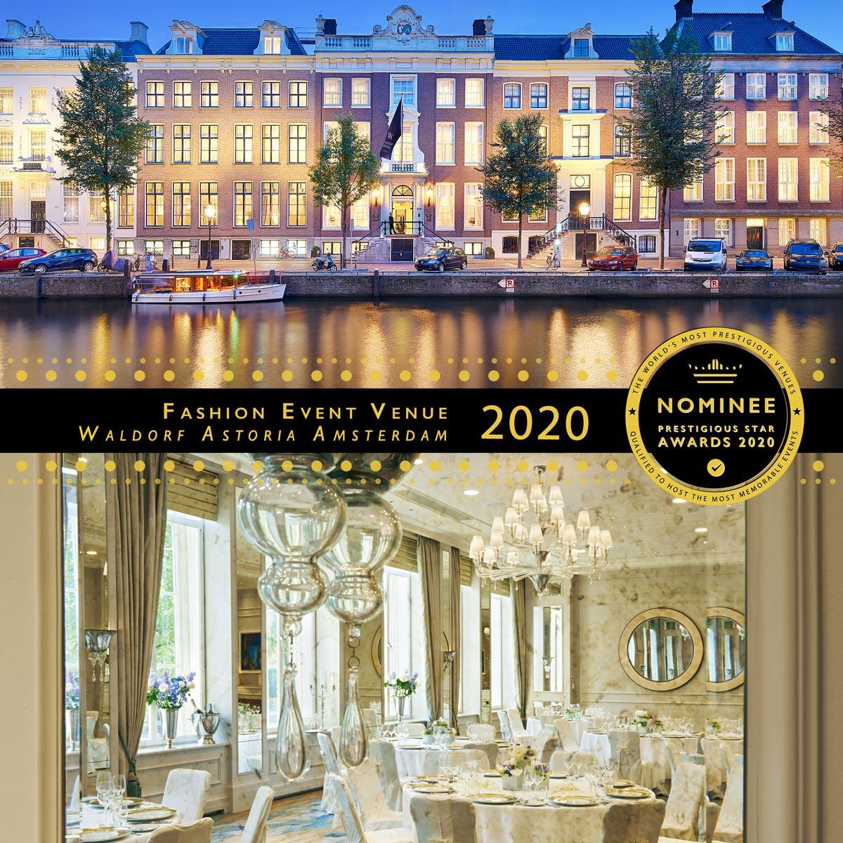 Hooft Ballroom at Waldorf Astoria Amsterdam