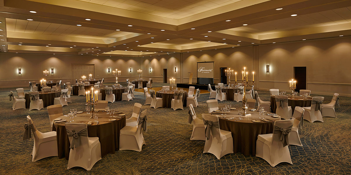 Gala Dinner Venue, Fairmont St Andrews, Prestigious Venues