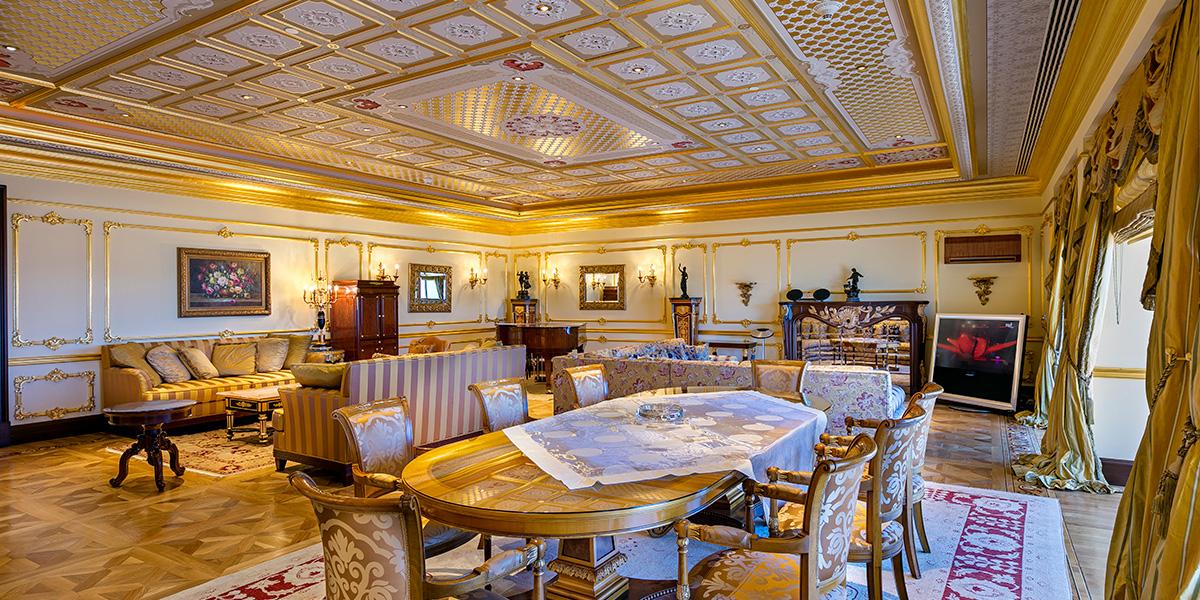 King Suite Parlor, Titanic Mardan Palace, Prestigious Venues