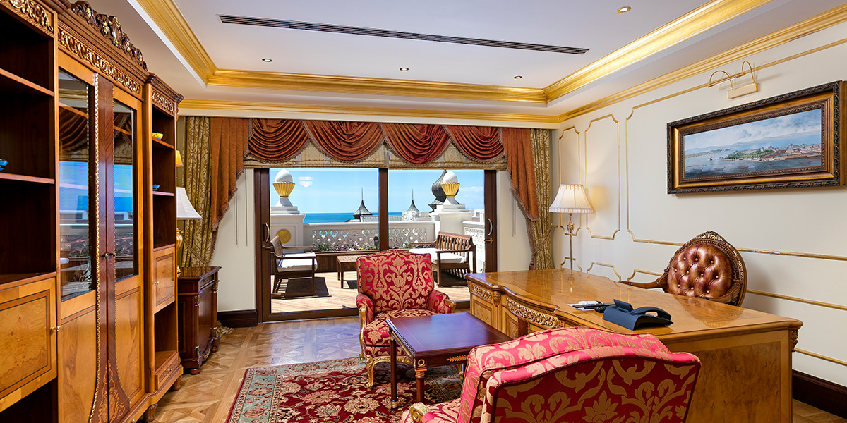 King Suite View, Titanic Mardan Palace, Prestigious Venues