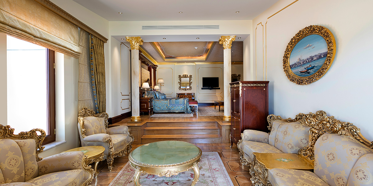 King Suite in Greece, Titanic Mardan Palace, Prestigious Venues