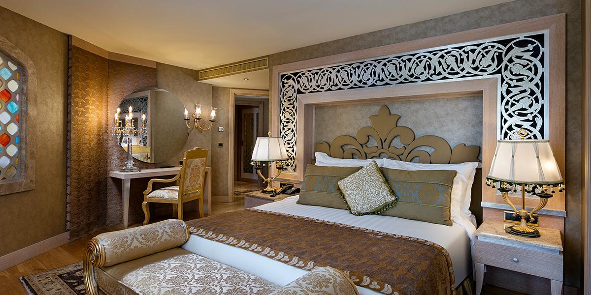 Lake House Bedroom, Titanic Mardan Palace, Prestigious Venues