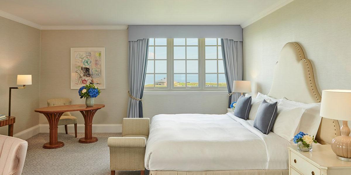 Luxury Bedroom With Sea View, Fairmont St Andrews, Prestigious Venues