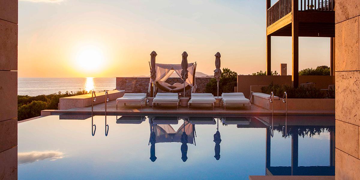 Royal Villa Pool Sunset, Costa Navarino, Prestigious Venues