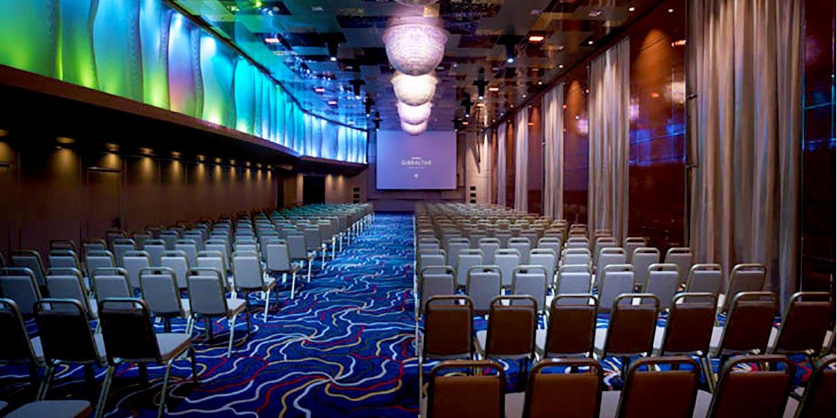 Aurora Ballroom,Sunborn Gibraltar, Prestigious Venues