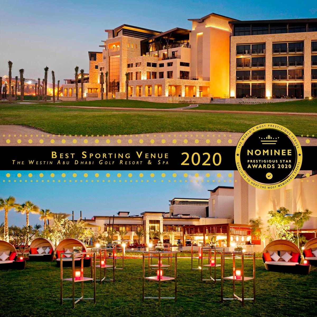 Event Lawn at The Westin Abu Dhabi Golf Resort & Spa