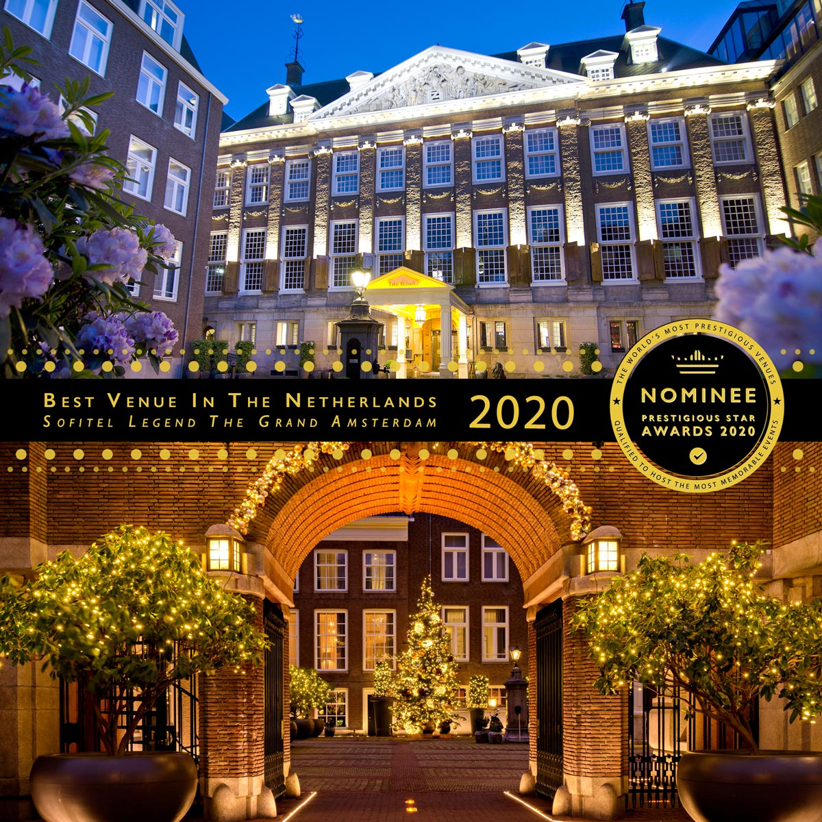 The Courtyard at Sofitel Legend The Grand Amsterdam