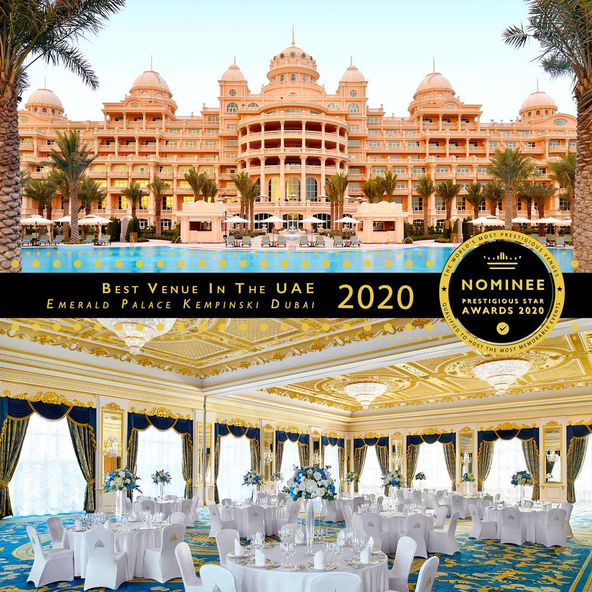 Grand Salon Maximilian' Ballroom at Emerald Palace Kempinski Dubai