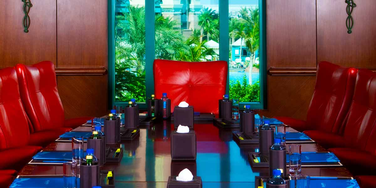 Board Meeting Room Atlantis The Palm Prestigious Venues
