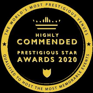 Highly Commmended in Prestigious Star Awards 2020