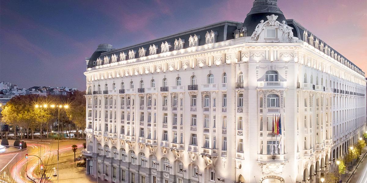 Hotel Exterior 3,  The Westin Palace, Madrid, Prestigious Venues