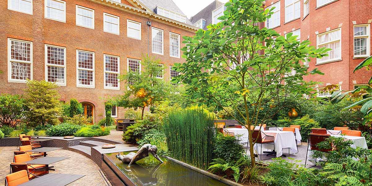 Hotel Garden Terrace, Sofitel Legend The Grand Amsterdam, Prestigious Venues