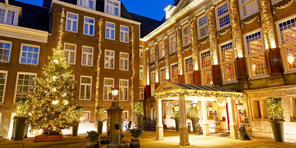 Luxury Hotel at Christmas, Sofitel Legend The Grand Amsterdam, Prestigious Venues