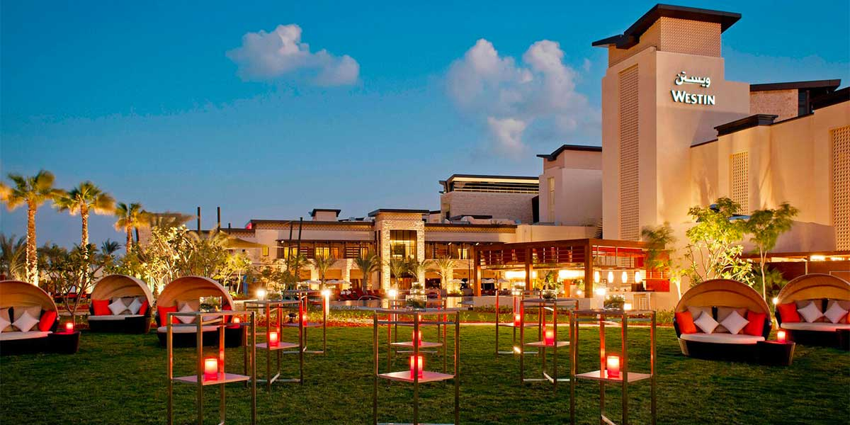 Outdoor Event Space, The Westin Abu Dhabi Golf Resort & Spa, Prestigious Venues