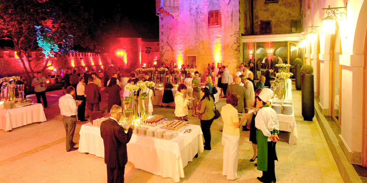 Outdoor Terrace, Hotel Grad Otocec, Prestigious Venues