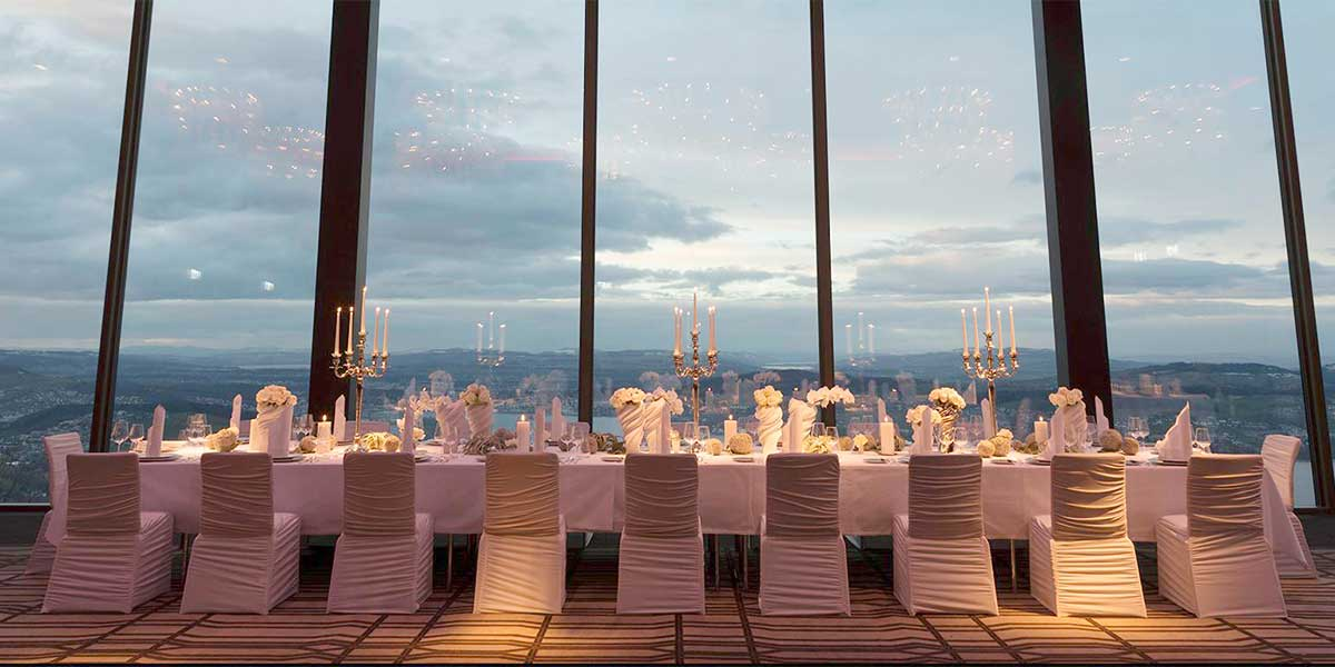 Private Dining Venue, Bürgenstock Hotel, Prestigious Venues