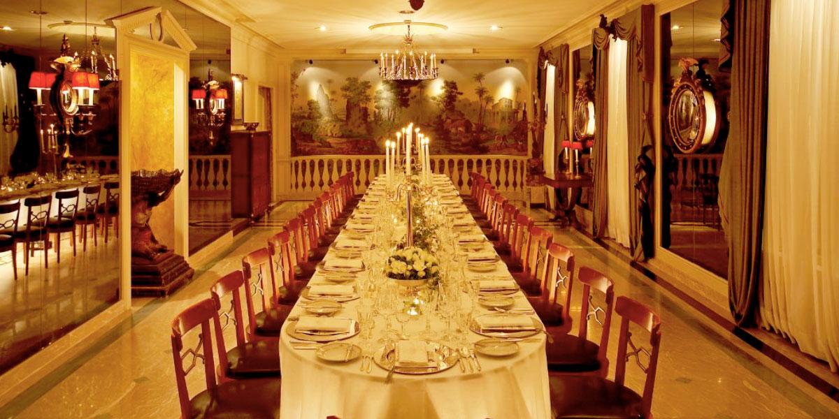Tropical Room, Palacio Estoril, Prestigious Venues