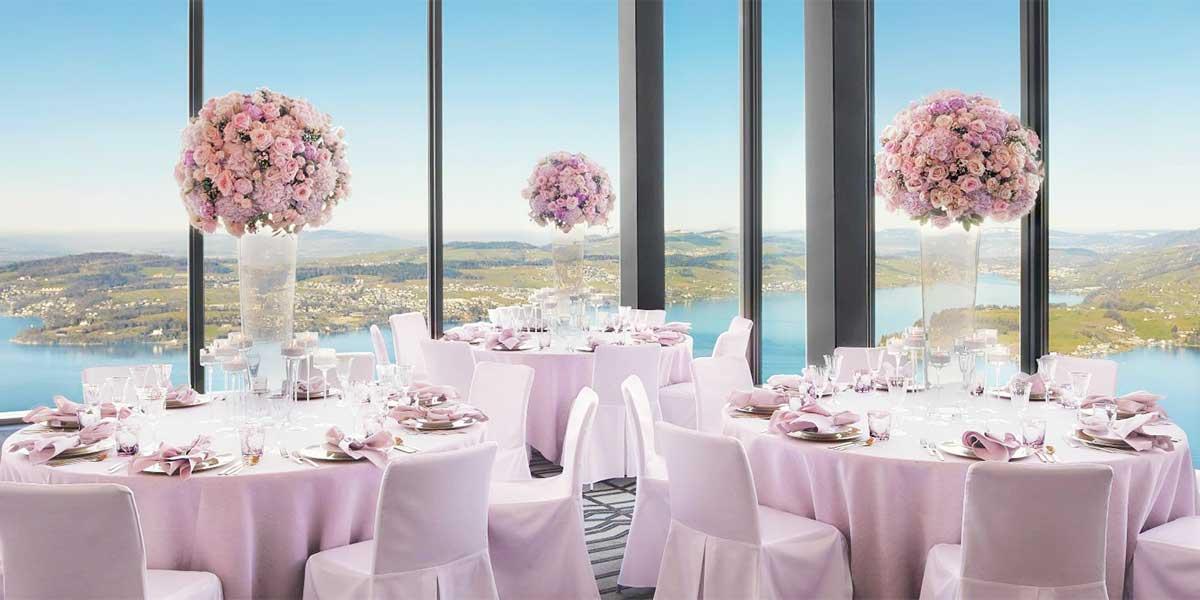 Wedding Venue, Bürgenstock Hotel, Prestigious Venues