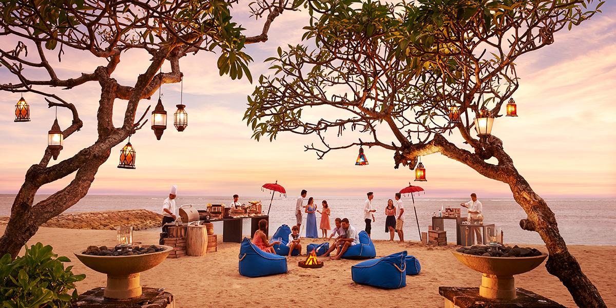 Outdoor Beach Venue in Bali, Conrad Bali, Prestigious Venues