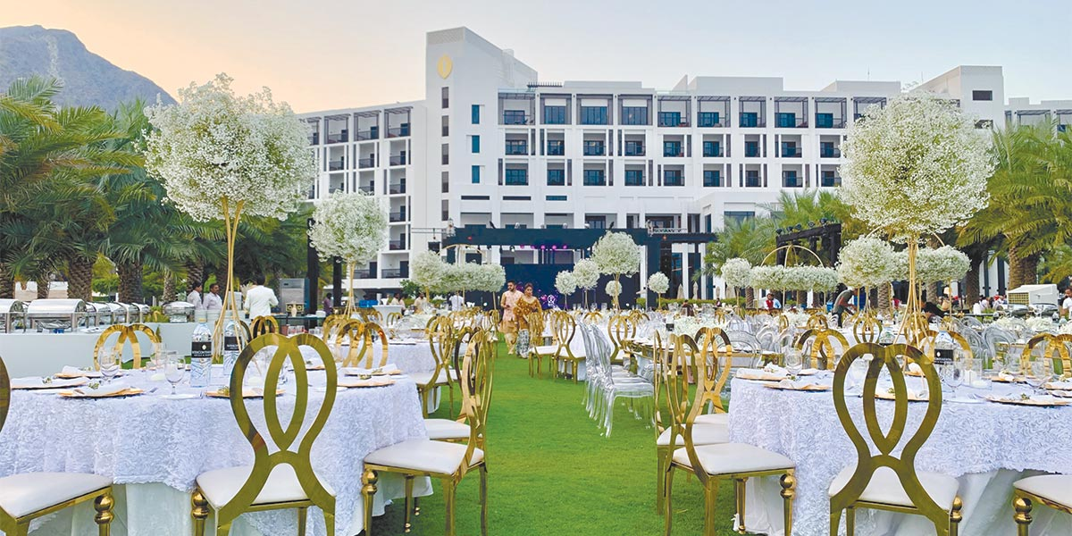 Wedding Reception, InterContinental Fujairah Resort, Prestigious Venues
