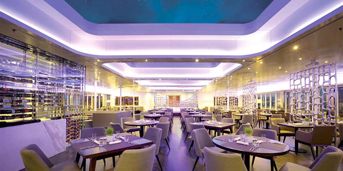 Barbary Restaurant,Sunborn Gibraltar, Prestigious Venues