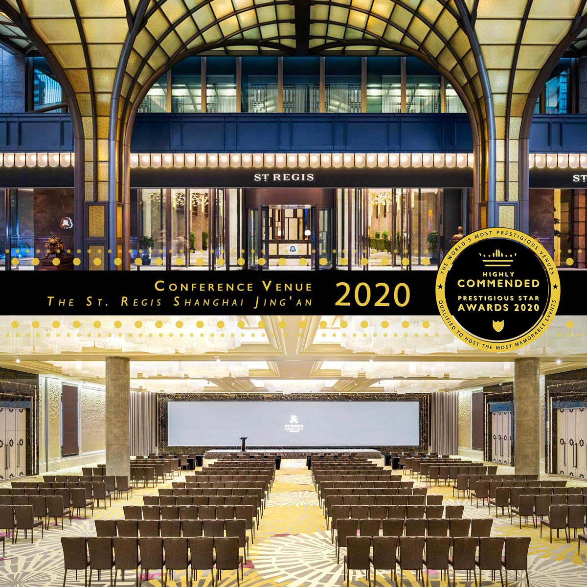 Astor Ballroom at The St. Regis Shanghai Jingan