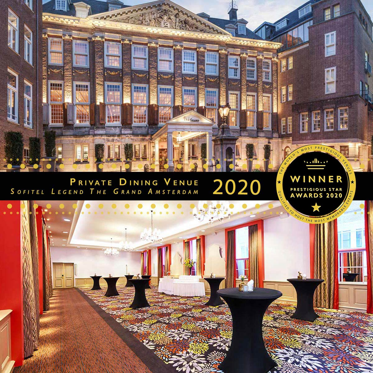 The Admirality at Sofitel Legend The Grand Amsterdam