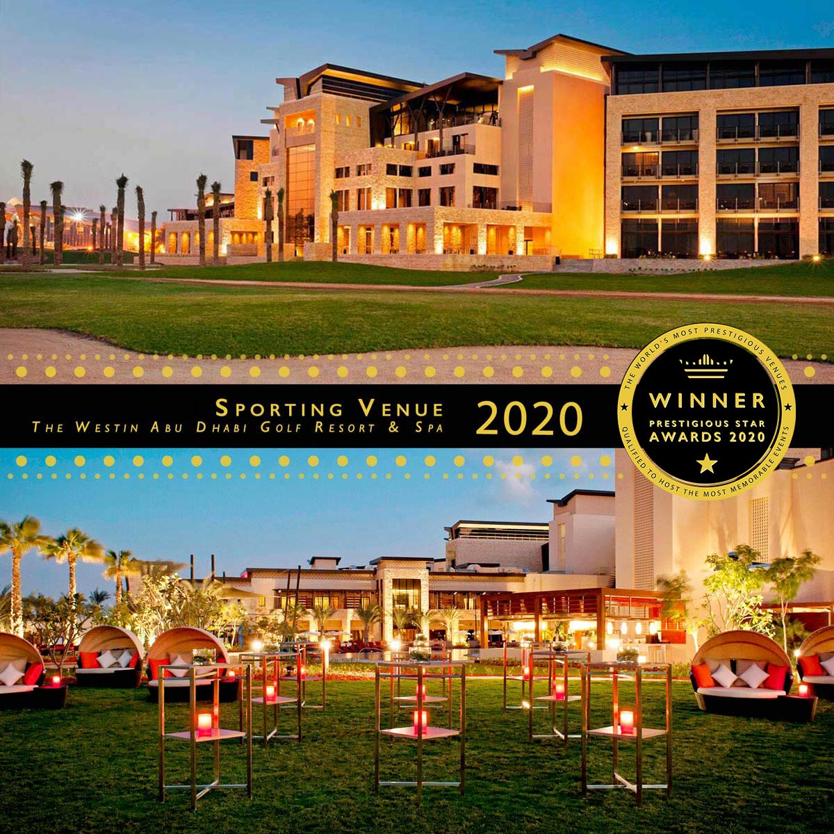 Event Lawn at The Westin Abu Dhabi Golf Resort & Spa